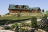 Log Home By, Golden Eagle Log Homes - Frontyard View