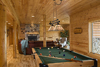 Log Home By, Golden Eagle Log Homes - Game Room