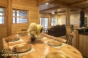 Log Home By, Golden Eagle Log Homes - Lower Level - Family Room / Bar Area View 3