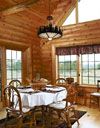 Log Home By, Golden Eagle Log Homes - Dining Area