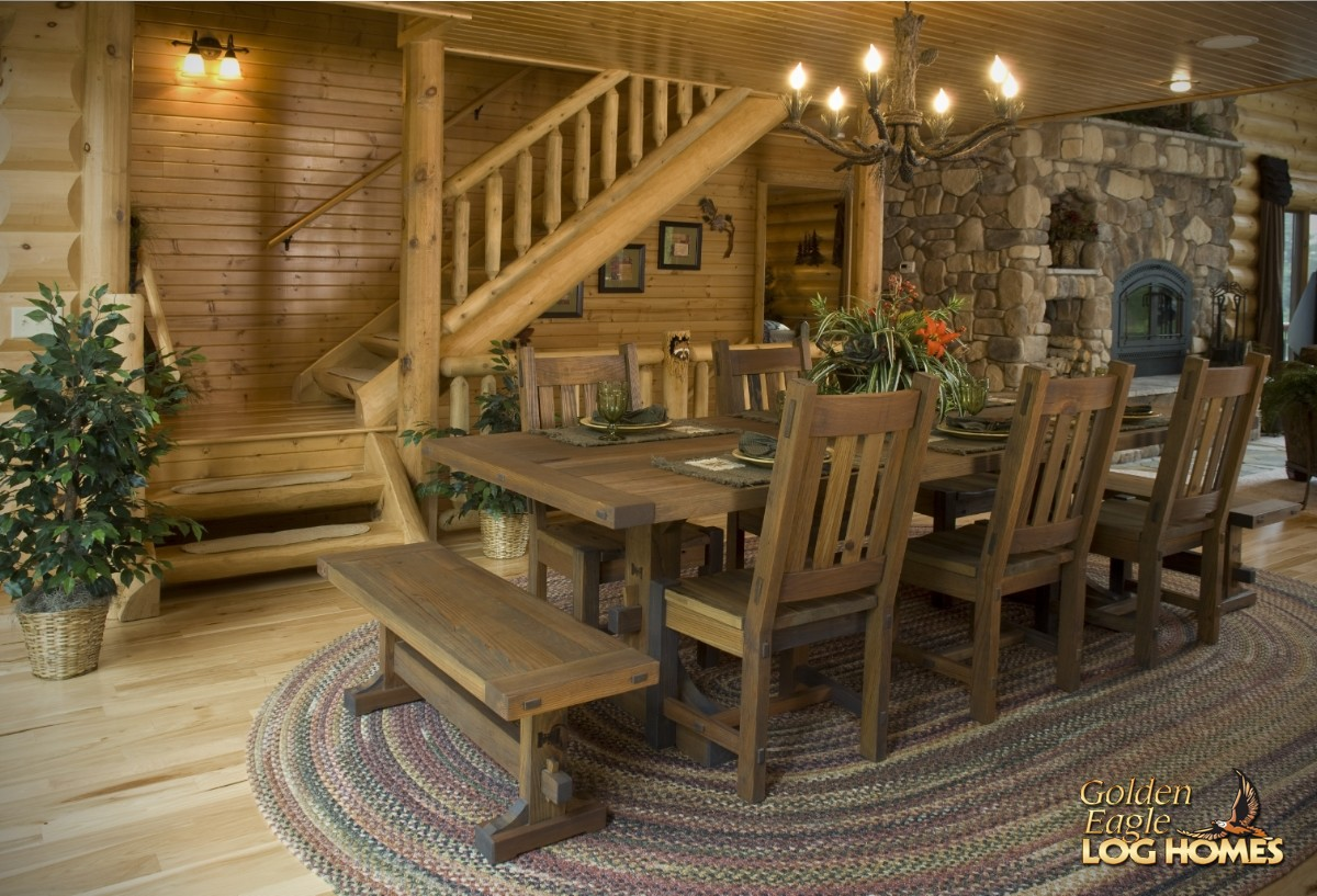 Golden eagle log and timber homes log home cabin pictures photos lakehouse 3352al Home design golden city furniture