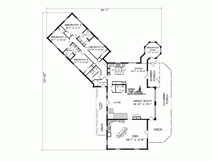 Golden Eagle Log And Timber Homes Plans Pricing Plan Details Country S Best Louisiana