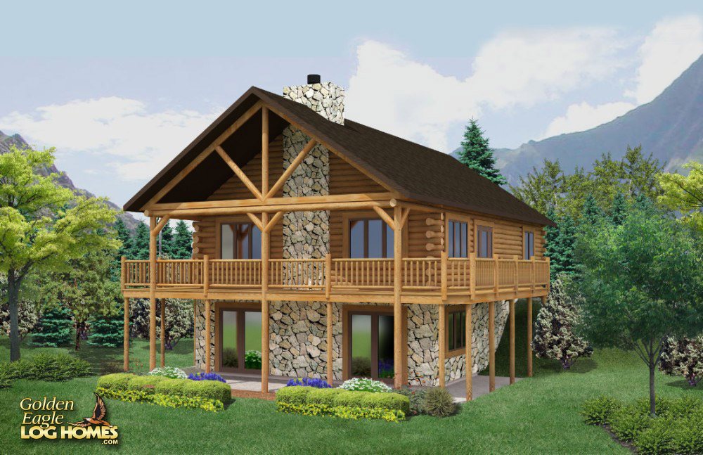 House plans home plan details lake cabin pics photos for Best log home designs