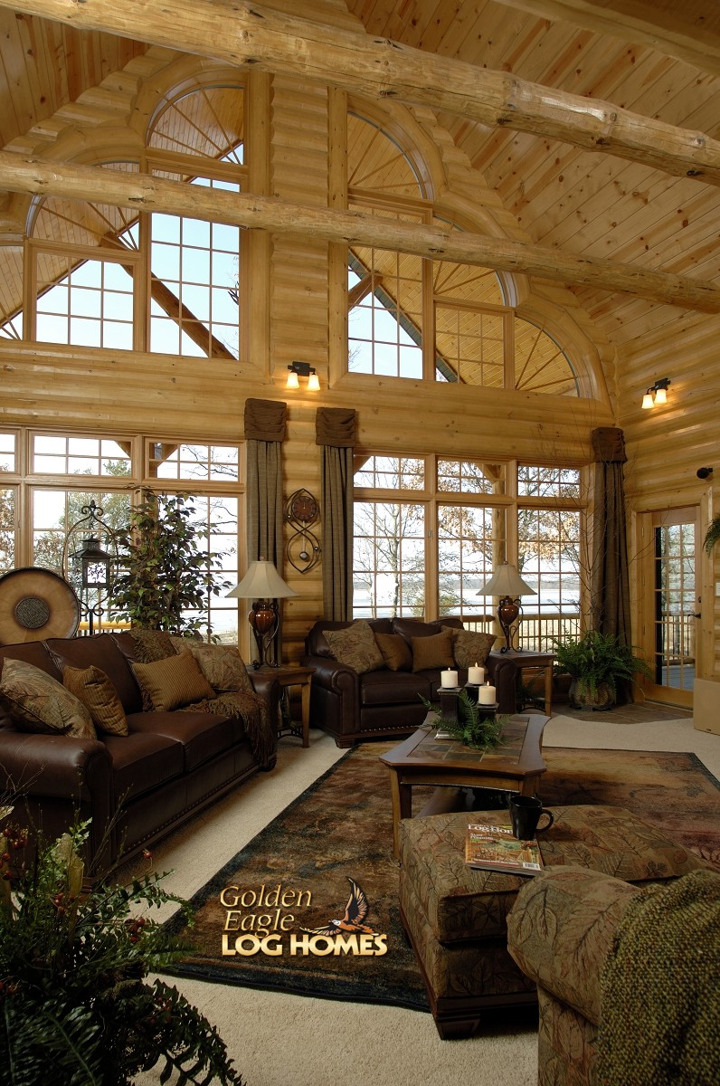 Golden Eagle Log And Timber Homes Home Cabin Pictures Photos Countrys Best 3361AL Showcase
