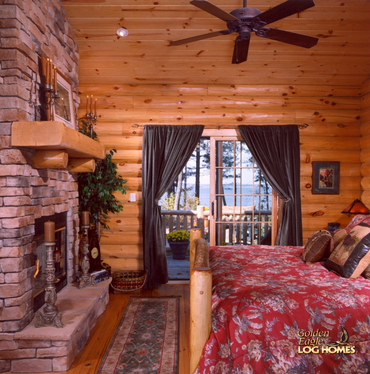 Golden Eagle Log And Timber Homes Log Home Cabin Pictures Photos Custom Eagle Prow V 1842al