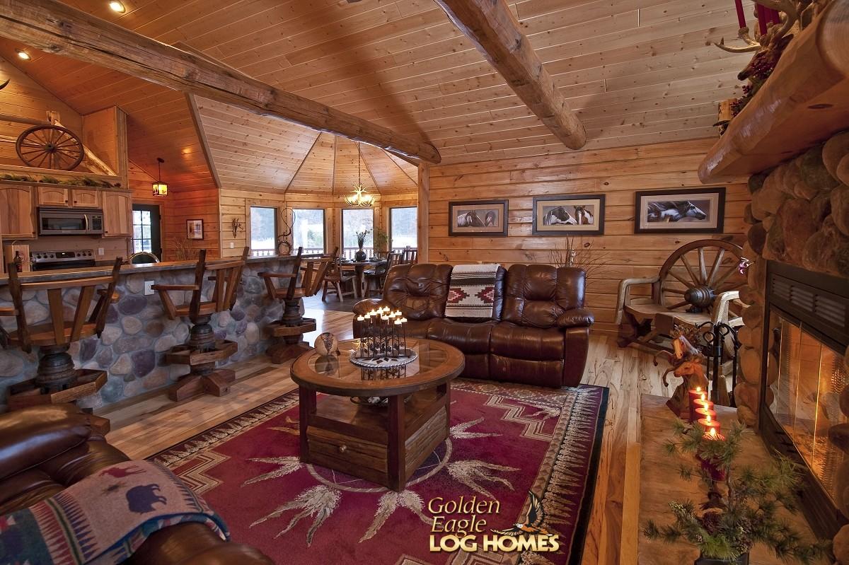 Golden Eagle Log And Timber Homes Floor Plan Details