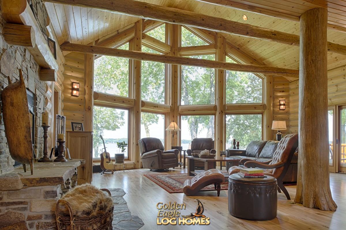 Garage Floor Plan Designer Golden Eagle Log And Timber Homes Log Home Cabin