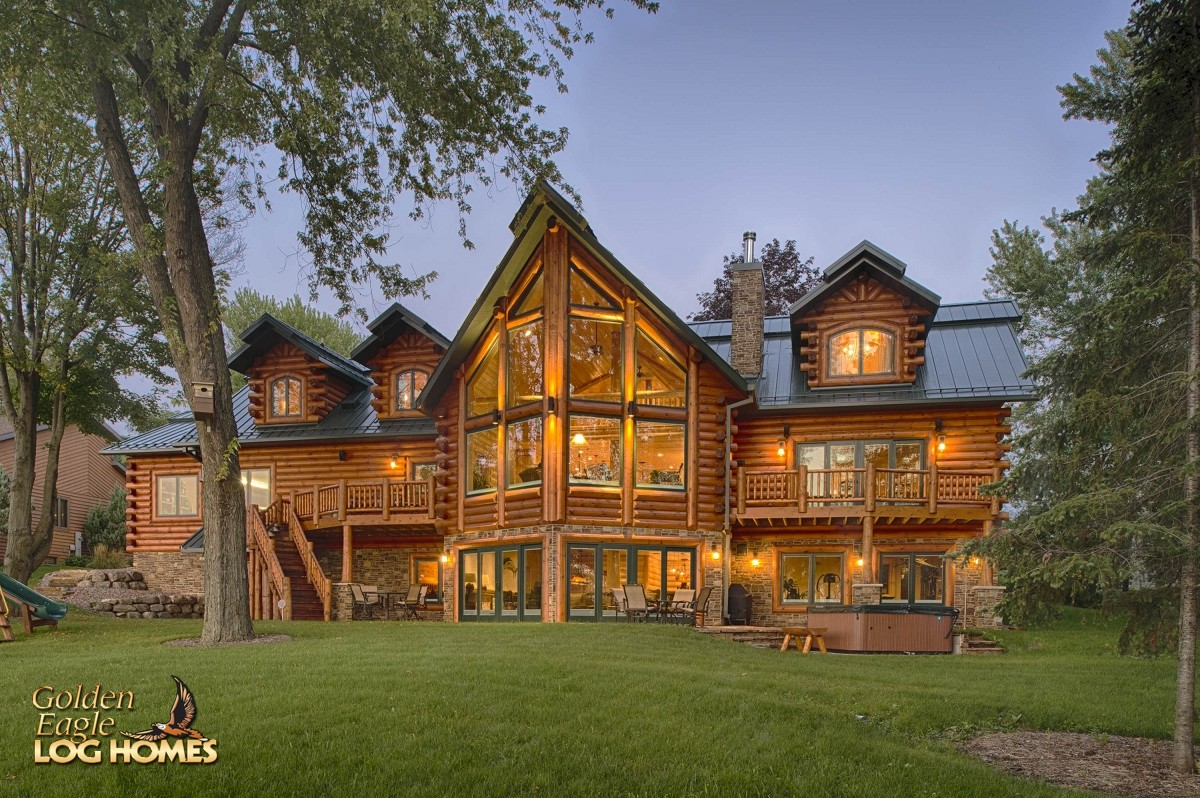 Golden Eagle Log Homes Log Home Cabin Pictures Photos Pics