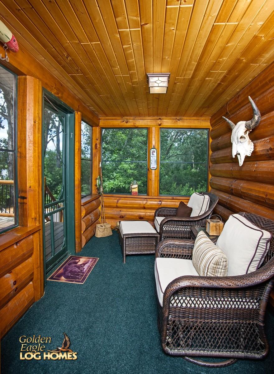 golden eagle log and timber homes log home cabin pictures photos custom eagle 3. Black Bedroom Furniture Sets. Home Design Ideas