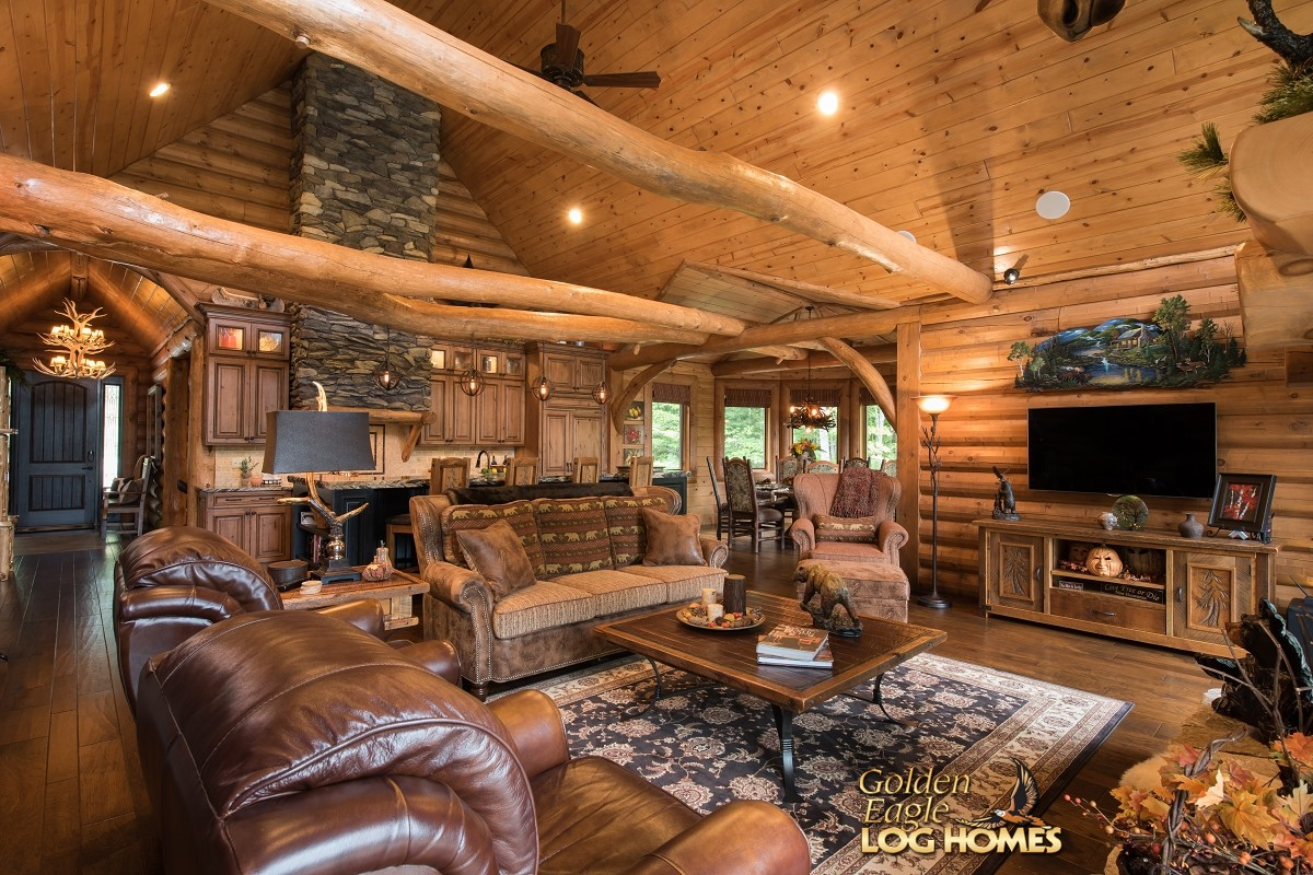 1000 images about rustic decor on pinterest log homes for Log cabin decor