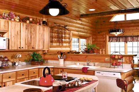 Custom Plan 1 Log Homes Photo Album