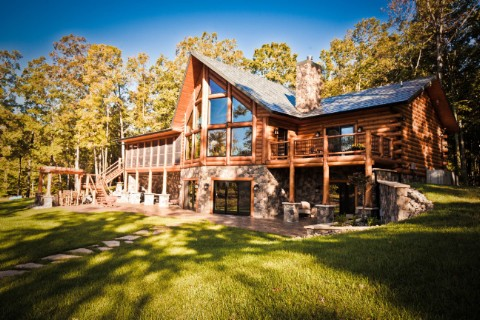 Lakehouse Ranch 2276AR Log Homes Photo Album