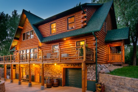 Custom Eagle 3 Log Homes Photo Album