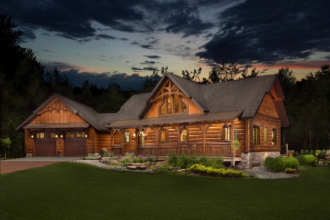 Timber Ranch AR2286-UCT Log Homes Photo Album