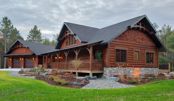 Golden Eagle Log And Timber Homes Home