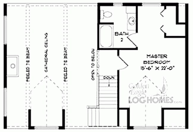 Second Floor Layout