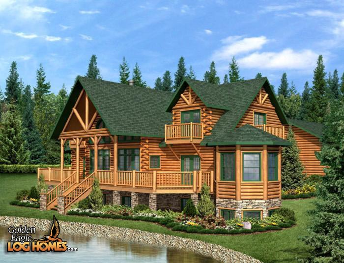 Admirable Golden Eagle Log And Timber Homes Plans Pricing Plan Beutiful Home Inspiration Xortanetmahrainfo