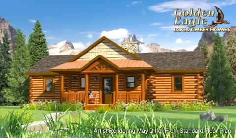 Golden Eagle Log and Timber Homes : Plans and Pricing