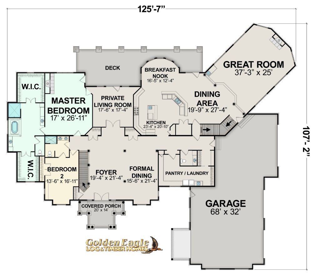 Log Cabin Floor Plans | Golden Eagle Log And Timber Homes Plans Pricing Plan Details