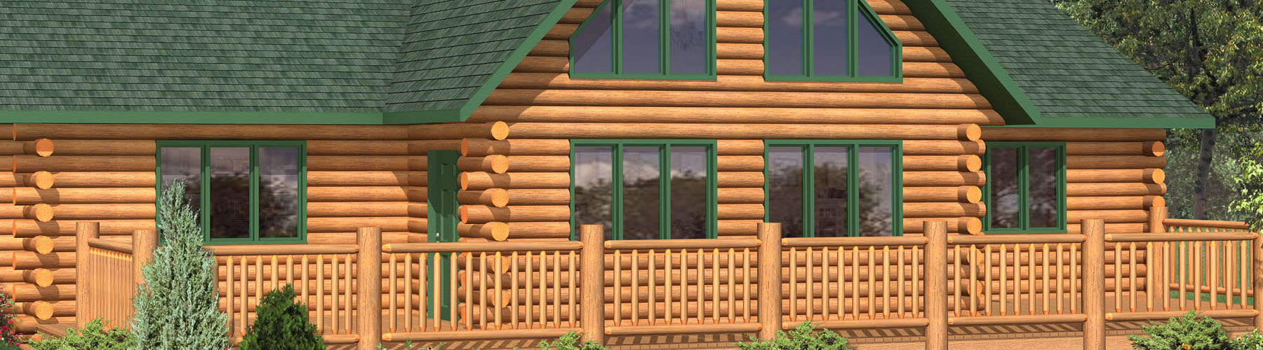 Log Cabin 2113A Lofted