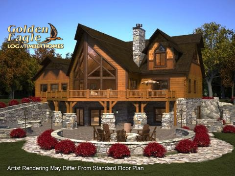 Golden Eagle Log And Timber Homes Plans And Pricing