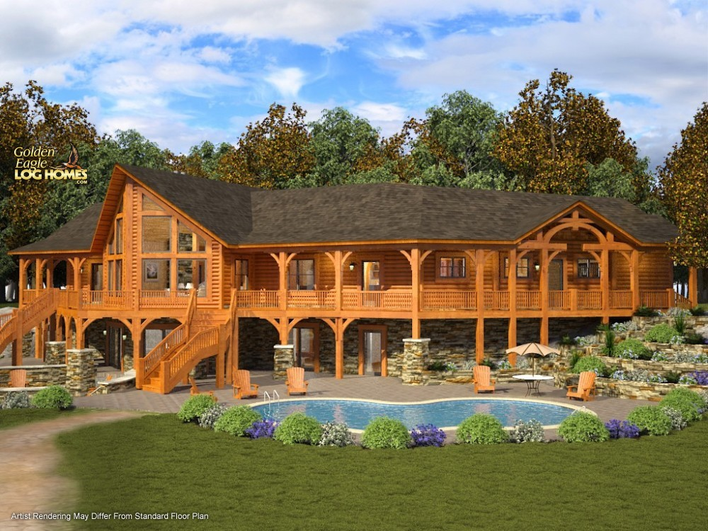 Golden Eagle Log And Timber Homes Plans Amp Pricing Plan