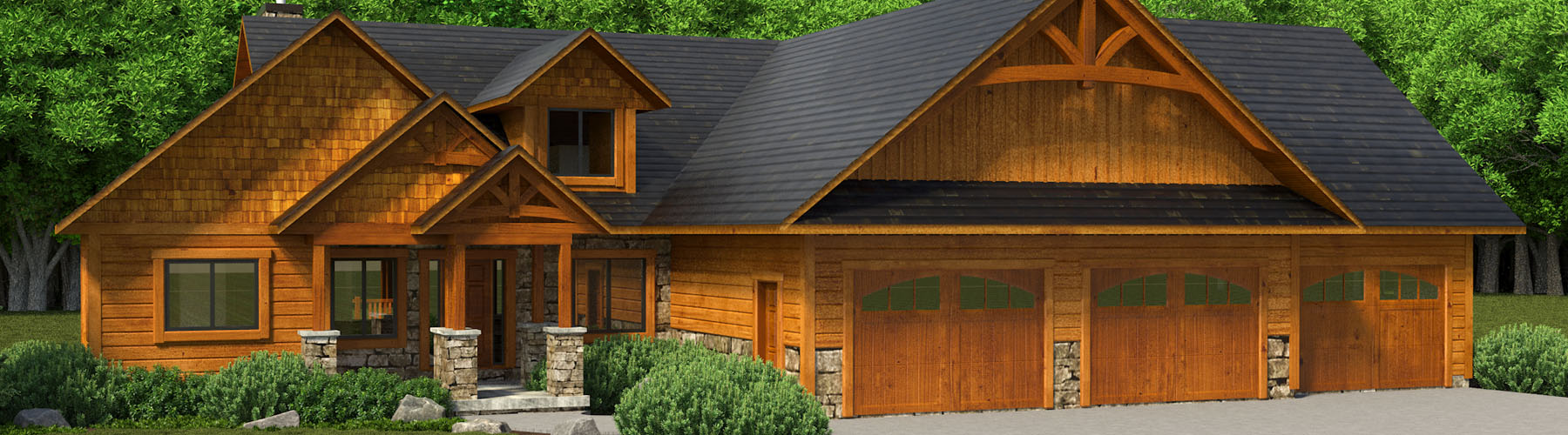 Timber Accent Home 2609AR-UCT Ranch Ultra Custom Timber