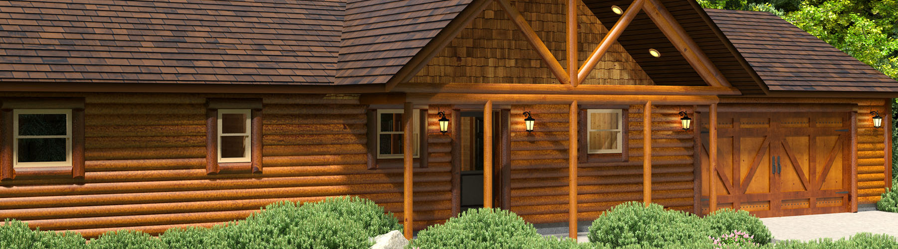 Perfect Log Cabin 1480AR-BP Base Package Series