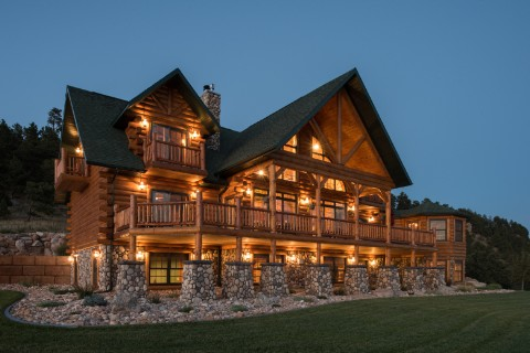Country's Best - Mountain Home - Modified Log Homes Photo Album