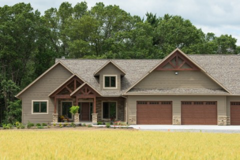 Timber Accent Home 2609AR-CT Log Homes Photo Album