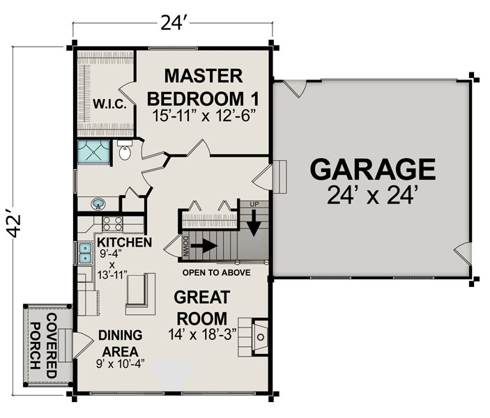 600 Front Street Apartments: 600 Sq Ft House Plans With Loft